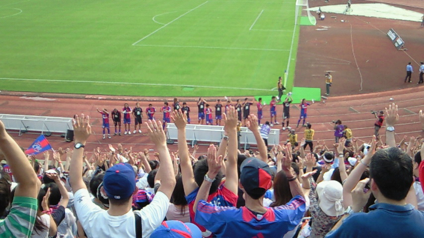 久々の駒沢【FC東京対清水エスパルス@駒沢】