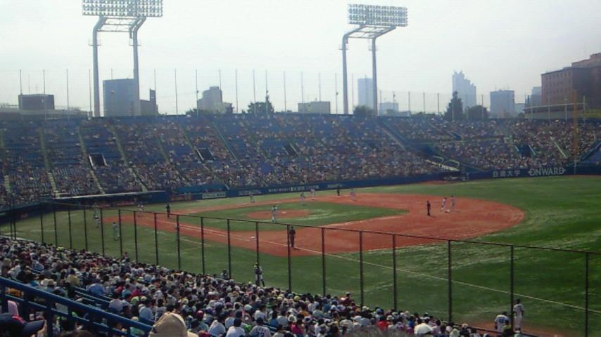 昼の部【東京ヤクルトスワローズ対横浜ベイスターズ@神宮球場】