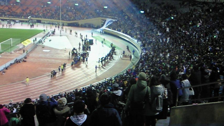 あと4ヵ月【東アジア選手権 日本男子代表対韓国男子代表@<br />  国立】