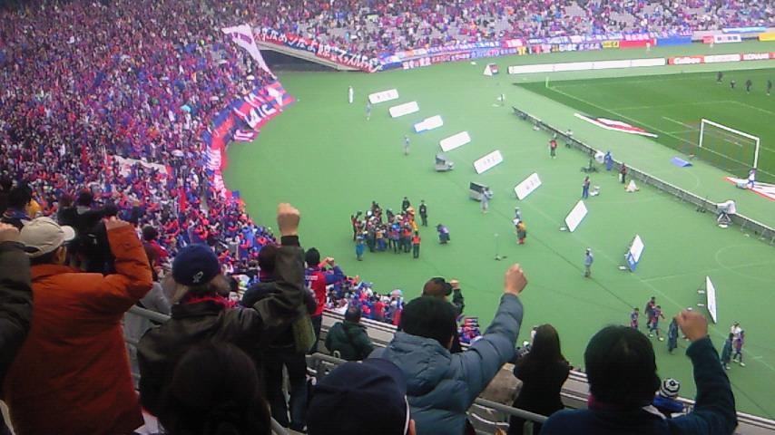 凌ぎ勝ち【FC<br />  東京対横浜F・マリノス@<br />  味スタ】