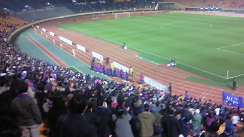 これが精一杯【FC<br />  東京対名古屋グランパス@<br />  国立】