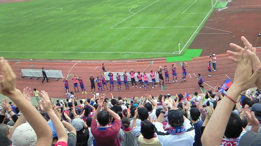 この勝ちは大きい【FC<br />  東京対アルビレックス新潟@<br />  駒沢】