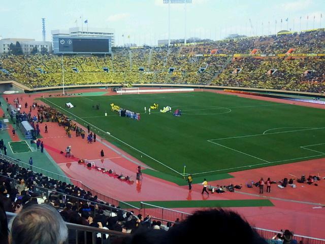 【J特】まずまずの試合《スーパーカップ柏レイソル対FC東京@国立》