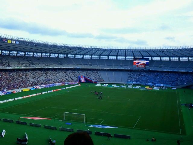 【J特】サッカーってわからん《FC東京対ジュビロ磐田@味スタ》