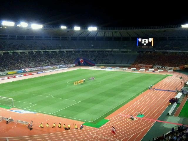 時間が経つのが早かった《FC東京対清水エスパルス@味スタ》