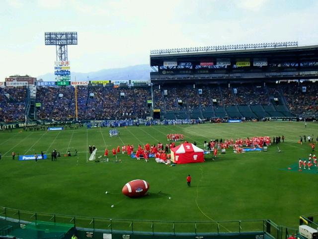 ノーガードの打ち合いは遠い昔【第68回甲子園ボウル関西学院大対日本大@甲子園球場】